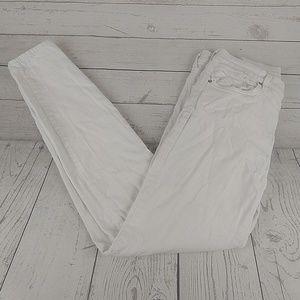 Agolde Sophie white skinny jeans 30